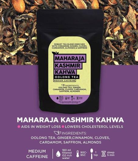 Immunity boosting herbal teas by The Tea Trove